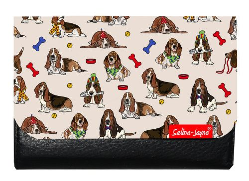 Selina-Jayne Basset Hound Limited Edition Designer Small Purse